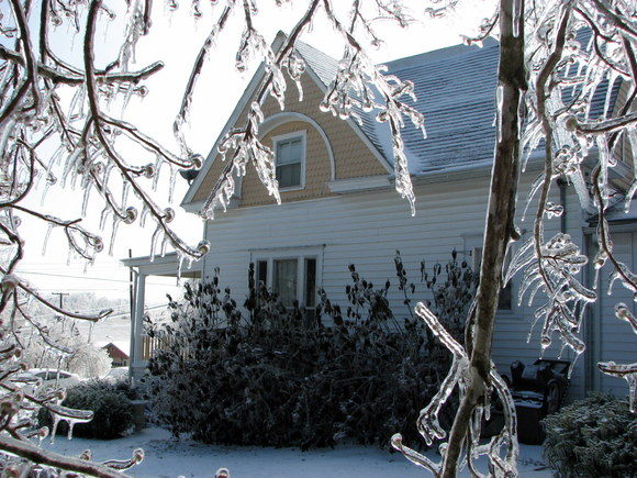 icy north side of SL
